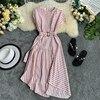 Striped Women Dress 3