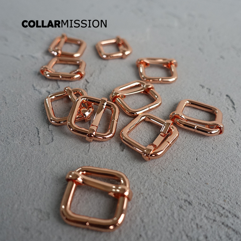 Apparel Sewing & Fabric Charitable 100pcs/lot 15mm Metal Non-welded Roller Pin Adjuster Buckles For Backpack Straps Shoes Bags Cat Dog Collardiy Accessories Lxk15m To Have A Long Historical Standing
