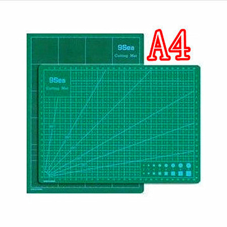 Hot Sell 2017 New A4 Patchwork Rubber Stamp Engraving Plate Model With A Special Cutting Mat Cutting plastic Board