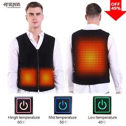 PINJIA  USB Vest Heated Jacket  Waistcoat Self Heating Clothing for hunting outdoor(SV03)