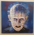 Pinhead HELLRAISER a 2015 mejor aceite de arte painting-100 % pintado a mano 24 x 20 pulgadas coste de envío gratis
