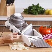 VOGVIGO Adjustable Vegetable Cutter Mandoline Slicer Professional Grater With 304 Stainless Steel Blades Kitchen Cutter Tools