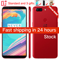 Stock Oneplus 5T 5 T 6GB 64GB Snapdragon 835 Octa Core Smartphone 6.01