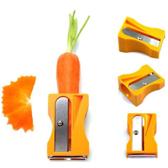 Pencil Sharpener Cucumber Carrot Peelers Mask Beauty