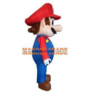 Image 3 - Yetişkin boyutu süper Mario maskot kostüm süslü elbise güzel kardeşler takım elbise cadılar bayramı partisi olay
