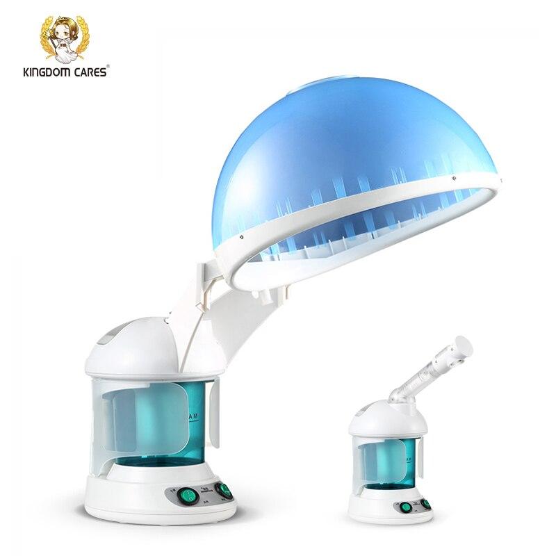 Home Use 2 In 1 Hair Oil Treatment Facial Steamer Moisture