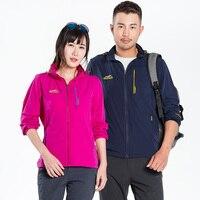 Lisyee Новое поступление мягкой оболочки куртки для Для мужчин Для женщин ветрозащитный дышащий восхождение альпинист ветровка Спортивная Ве