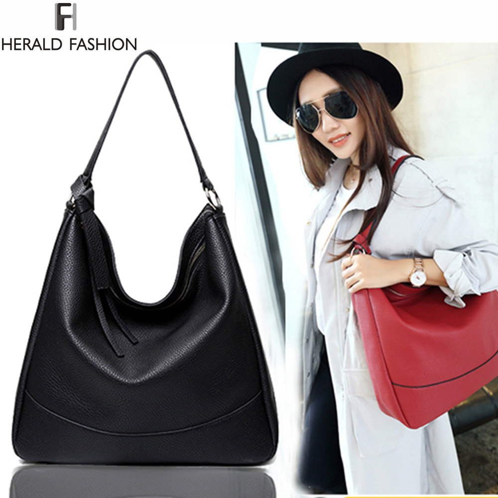 Online Shop Herald Brand Ladies Tassel Hobo Bags Women Shoulder ...