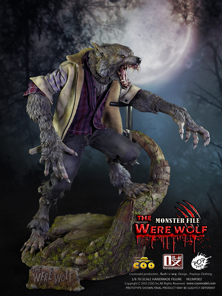 1/6 scale Collectible figure doll Monster File  Series Second Bombs-The Were Wolf 12 action figure doll Plastic Model Toys 1 6 scale collectible figure doll metal gear solid v the phantom skull face 12 action figure doll plastic model toys