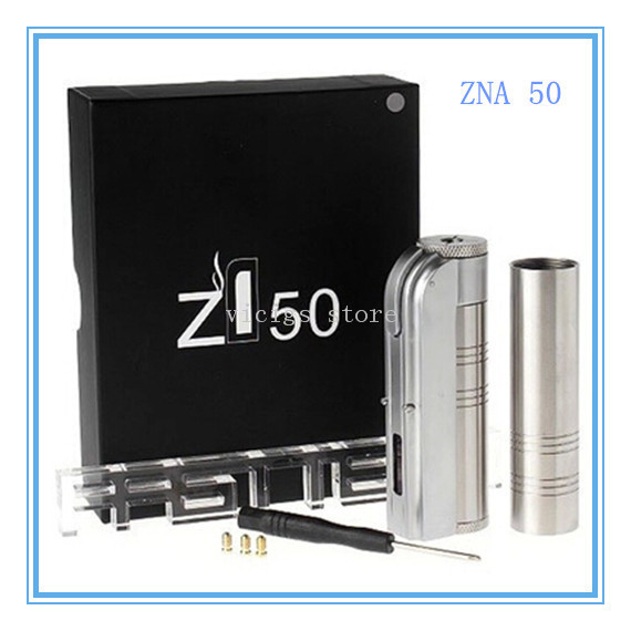 ФОТО Original Cloupor  ZNA 50W Mod Electronic Cigarette mod ZNA 50 Variable Voltage Electronic Cigarette Mechanical Mod