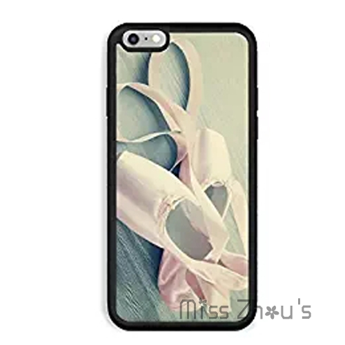 For iphone 4/4s 5/5s 5c SE 6/6s 7 plus ipod touch 4/5/6 back skins cellphone cases cover pink ballet pointe shoes on wooden