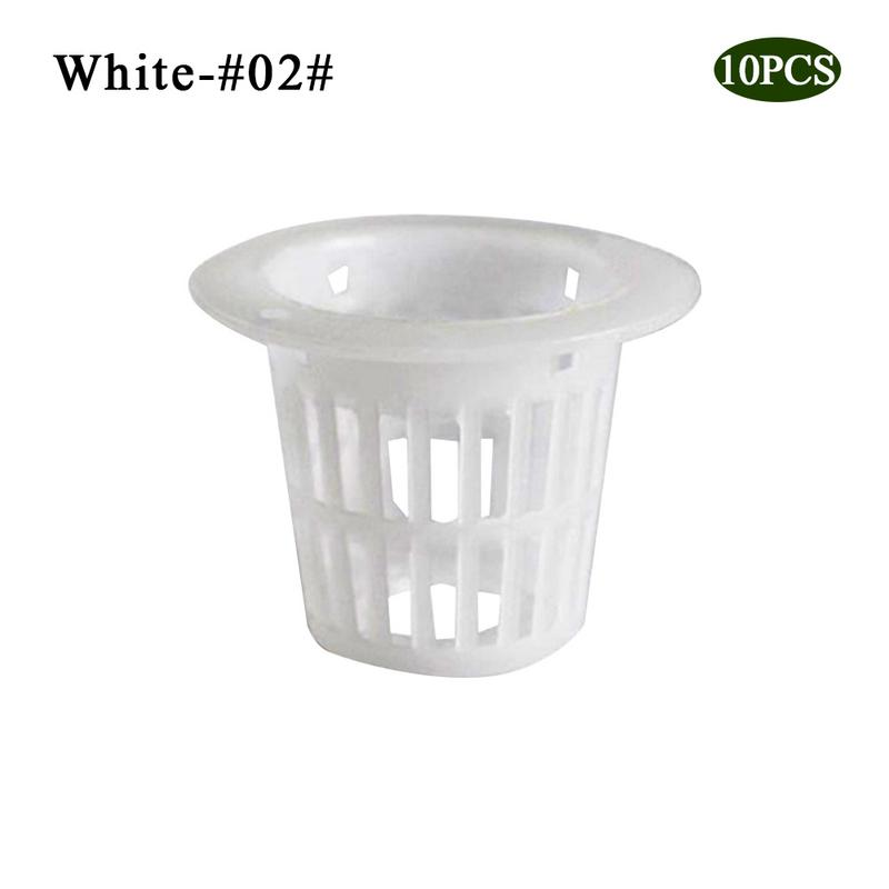 10 шт. сверхмощный гидропонный сетчатый горшок чистая чашка корзина гидропоники аэропоники растение сад клон - Цвет: 7