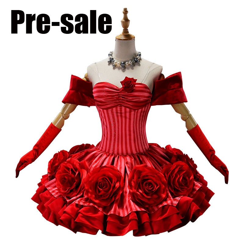 [Pre-sale]Game Fate Grand Order FGO Neru Saber Flowers Rose Dress Uniform Halloween Cosplay costumes for women NEW 2018