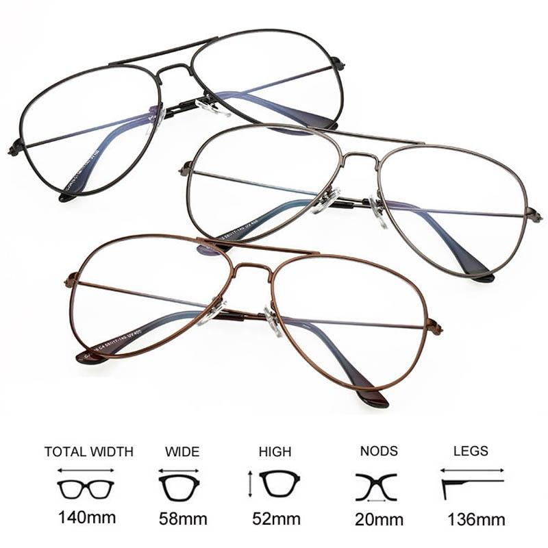 2019 Fashion Clear Glasses Women Optical Frames Myopia Lunette Female - Kläder tillbehör - Foto 4