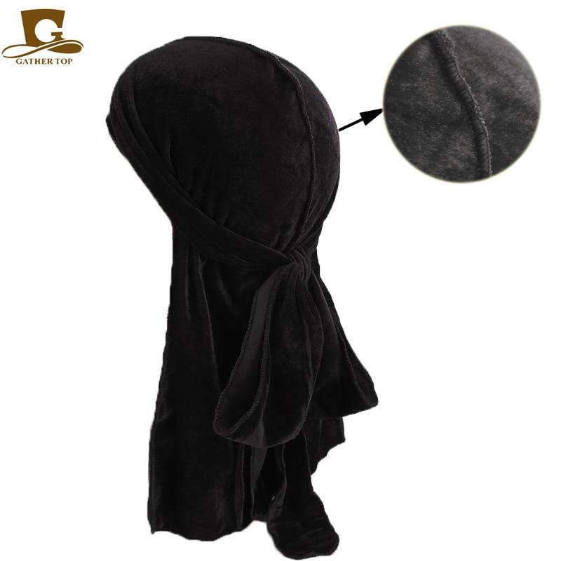 Unisex Hombres Mujeres Transpirable Bandana Sombrero de terciopelo - Accesorios para la ropa - foto 6