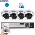 Gadinan 4CH 5.0MP Домашняя безопасность NVR POE CCTV камера системы 5MP SONY IMX335 4MP аудио звук Открытый ночное видение комплект наблюдения