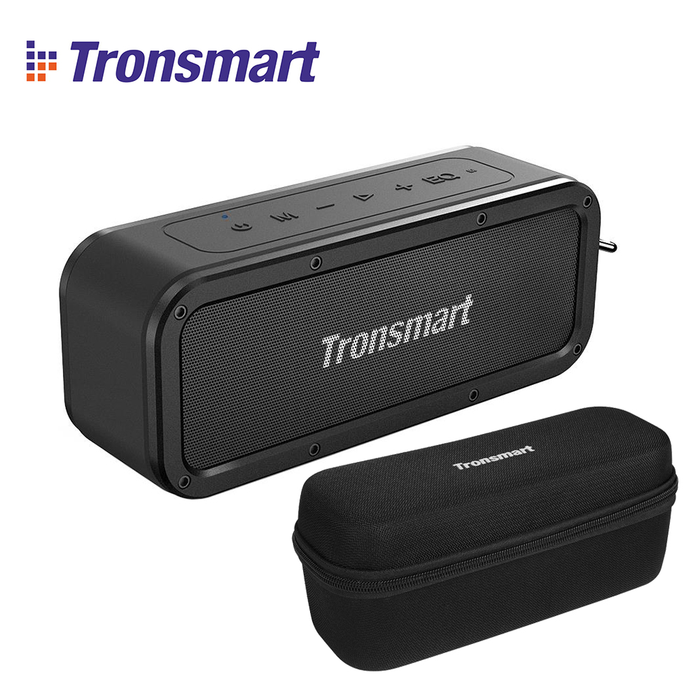 100 Original Tronsmart Element Force TWS NFC Portable Bluetooth Speaker 40W 15 Hours Playtime outdoor portable