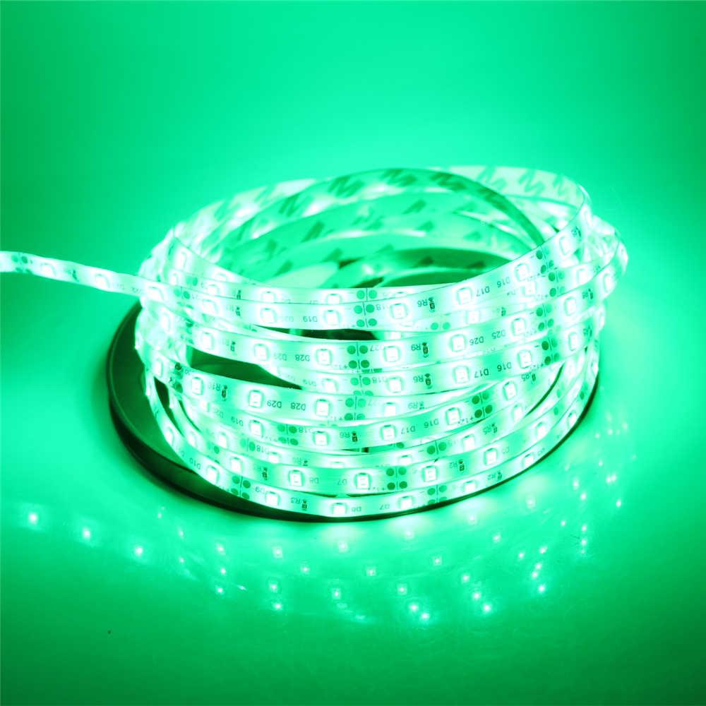 Image 2 - 2835 SMD led strip light DC12V 5M 300LEDs flexible ribbon tape lighting White Warm white Red Green Blue Yellow Pink RGB-in LED Strips from Lights & Lighting