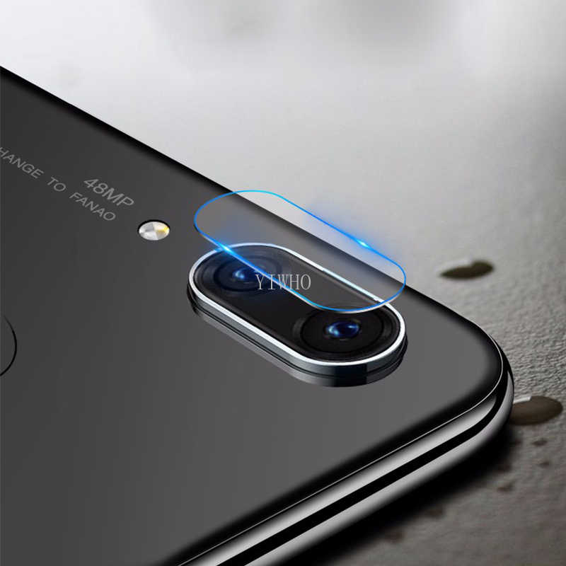 Objectif de caméra en verre trempé pour Xiaomi Redmi Note 7 Pro protecteur d'écran caméra arrière en aluminium anneau de protection pour Note7 Pro Film