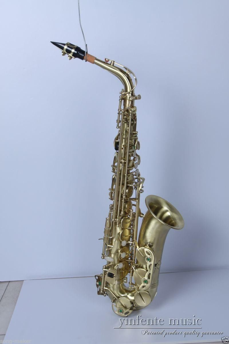 new brass alto sax saxophone stainless brass copper key low price new 20 in saxophone from. Black Bedroom Furniture Sets. Home Design Ideas