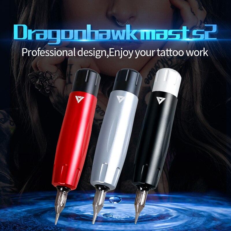 Profissional Tattoo Rotary Máquina Caneta Maquiagem Definitiva Tatuagem Arma para Cartucho Agulhas Estúdio de Tatuagem Suprimentos