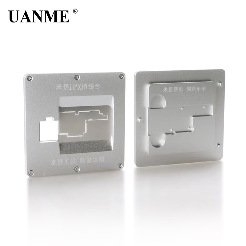 цена на UANME MiJing Circuit Board PCB Holder Jig Explosion-proof Cooling Tin Platform For iPhone X Motherboard Fixture Tool