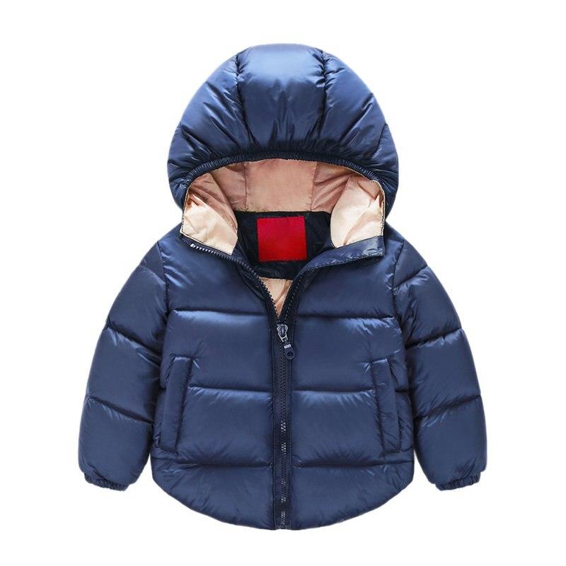 Newborn Warm Overall Kids Boy Jackets Outerwear ClothesBaby Snowsuit Cotton Unisex Girls Coats Jackets