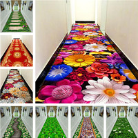 3D creative flower grass carpet WEEDING carpet Hallway MAT Bedroom Living Room Tea Table Rugs Kitchen Bathroom Antiskid Mats