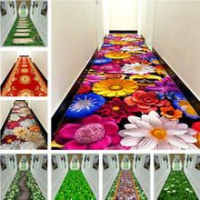 3D kreatywny kwiat dywan trawiasty przedpokój mata sypialnia dywaniki do salonu kuchnia maty podłogowe do łazienki duże dywaniki dostosowane tanie tanio NoEnName_Null Gabinet fashion 100 poliester Handlowych Domu Hotel Dekoracyjne Maszyna wykonana Prostokąt Wilton Mechanicznej wash