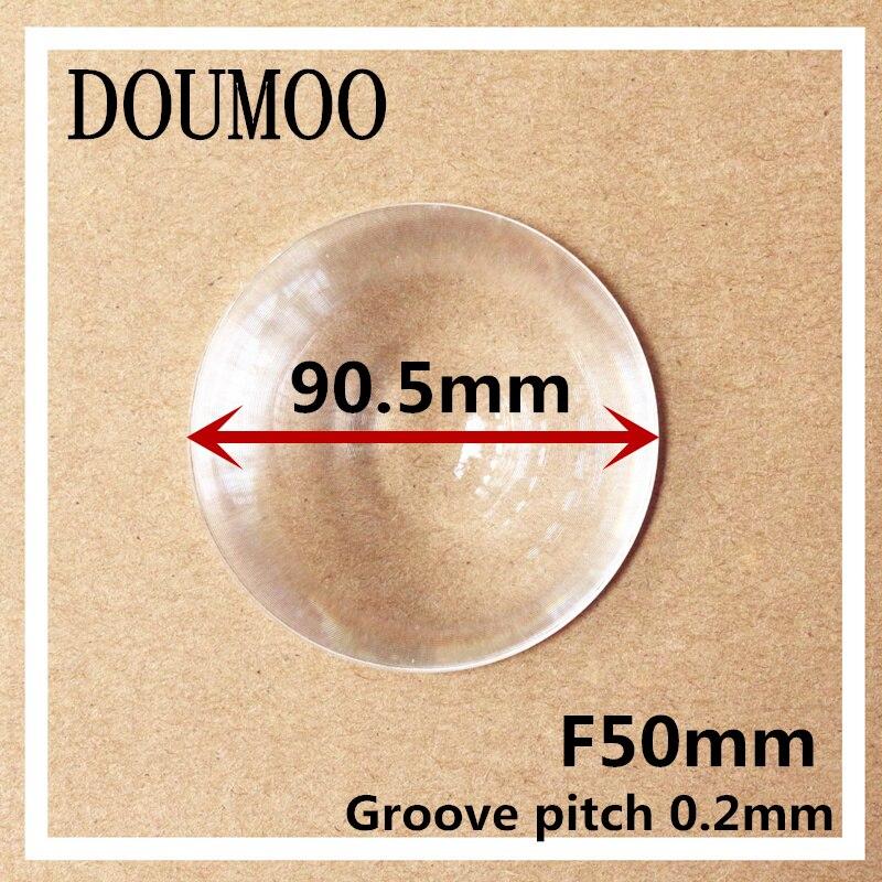 Soutien Dropshippin DIY De Projection pour Diamètre 90.5mm Lentille De Fresnel longueur Focale 50mm pas de Groove 0.2mm lentille de fresnel