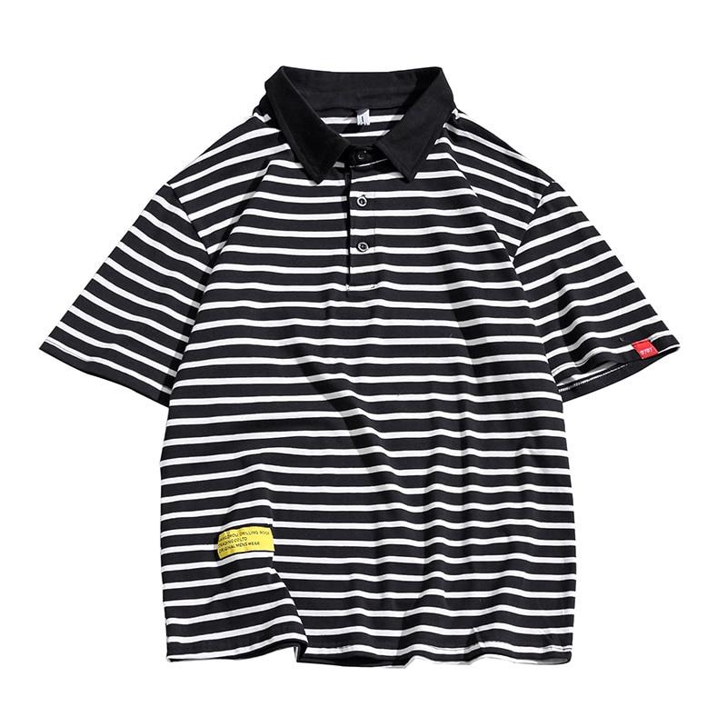 Men's Striped   Polo   Shirts Casual Breathable Brand Fashion Short Sleeve High Quality Summer Men Shirt   Polo   Mens Clothing