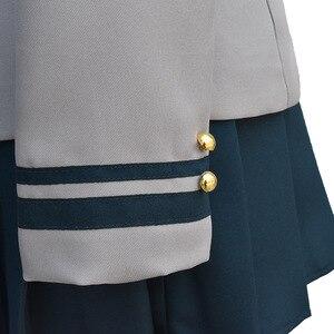 Image 5 - Boku no Hero Academia AsuiTsuyu Yaoyorozu Momo School Uniform My Hero Academia OCHACO URARAKA Midoriya Izuku Cosplay Costume