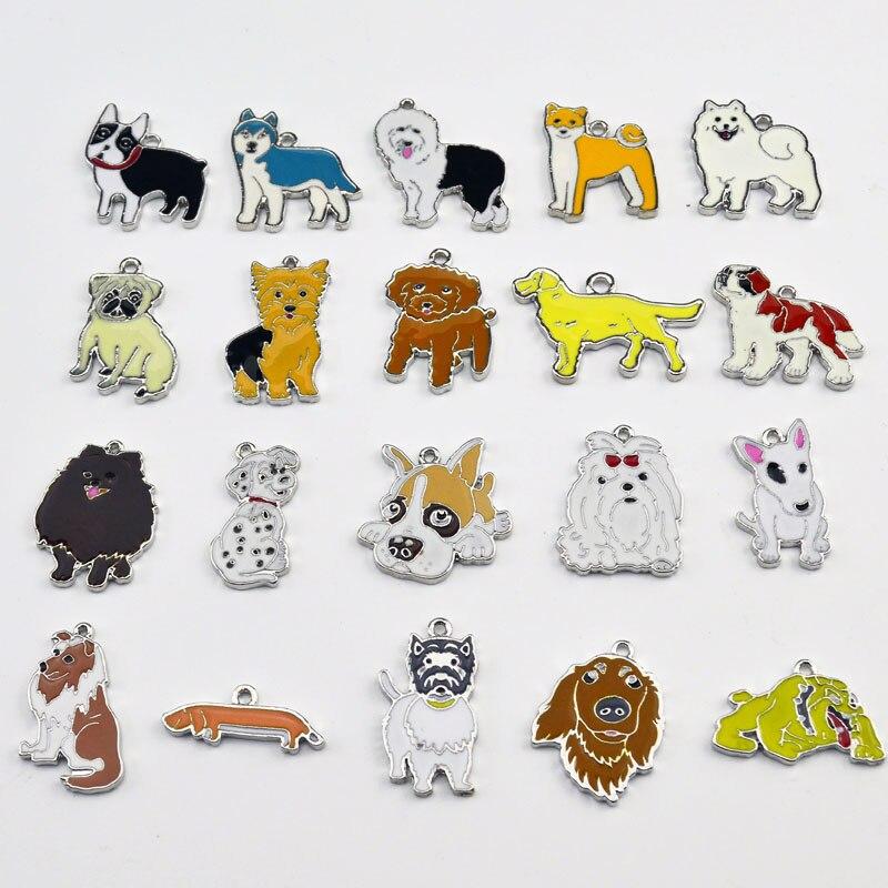 2 pcs\/lot Pet Pendants DIY Dogs Charm Car Accessories Boyfriend Gift Chihuahua Women Bag Charm