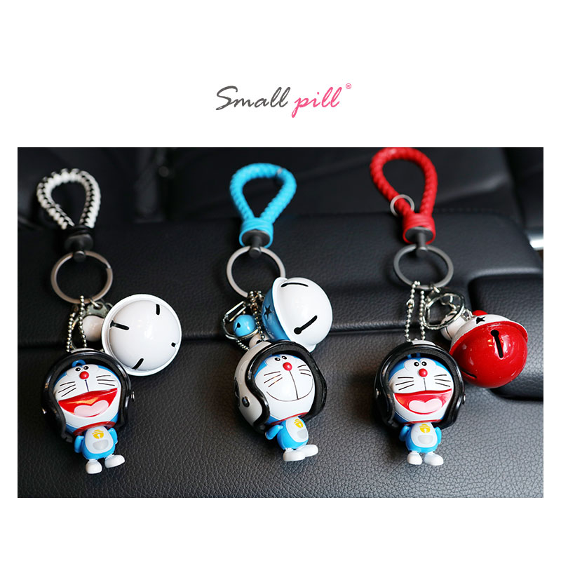 Image 4 - Marvel Avengers Captain America Key Holder Figure Marvel Doraemon Keychain Kids Toy Leather Rope Ring-in Key Rings from Automobiles & Motorcycles
