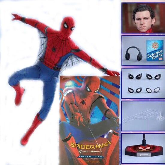 12 pouces HC jouets chauds compatibles Marvel Avengers Spiderman héros BJD Joints figurine mobile modèle jouet poupée cadeau