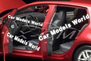 Image 4 - Modello di auto per il Golf 7 1:18 (Rosso) + PICCOLO REGALO!!!!!!!!!