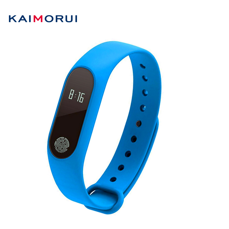 Kaimorui M2 Smart Band Heart Rate Monitor Smartband Fitness Sport Bracelet Pulsometer Smart Wristband PK Fitbits