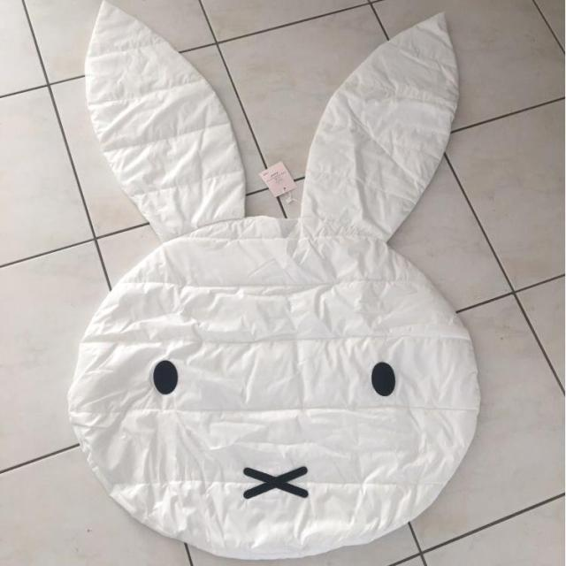 Rabbit Shaped Floor Blanket Baby Crawling Carpet Baby Floor Play