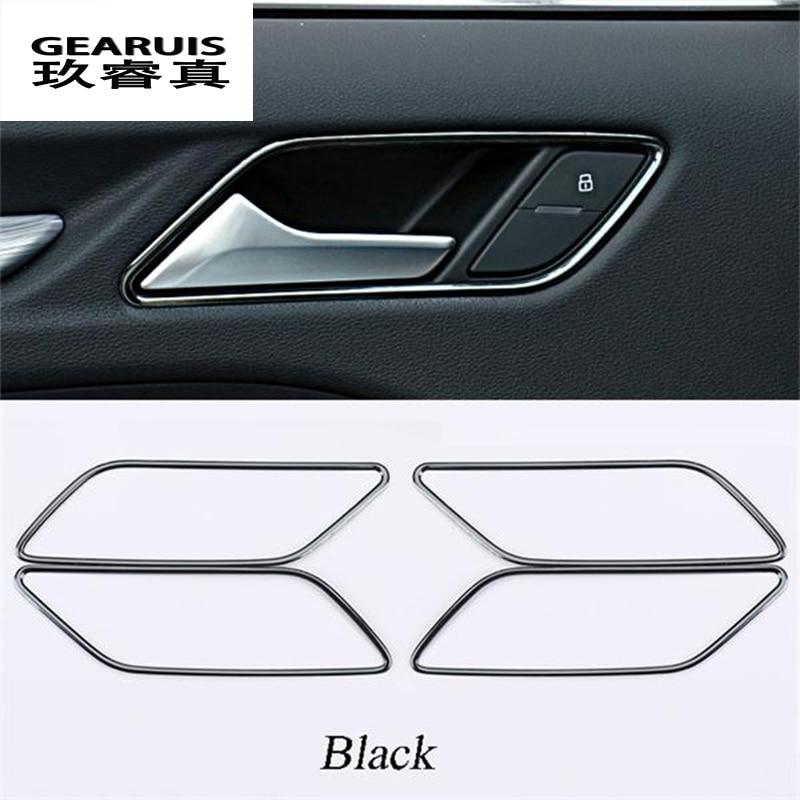 For Audi A3 8V 2012-2018 Stainless Interior Inner handle bowl cover trim 4pcs