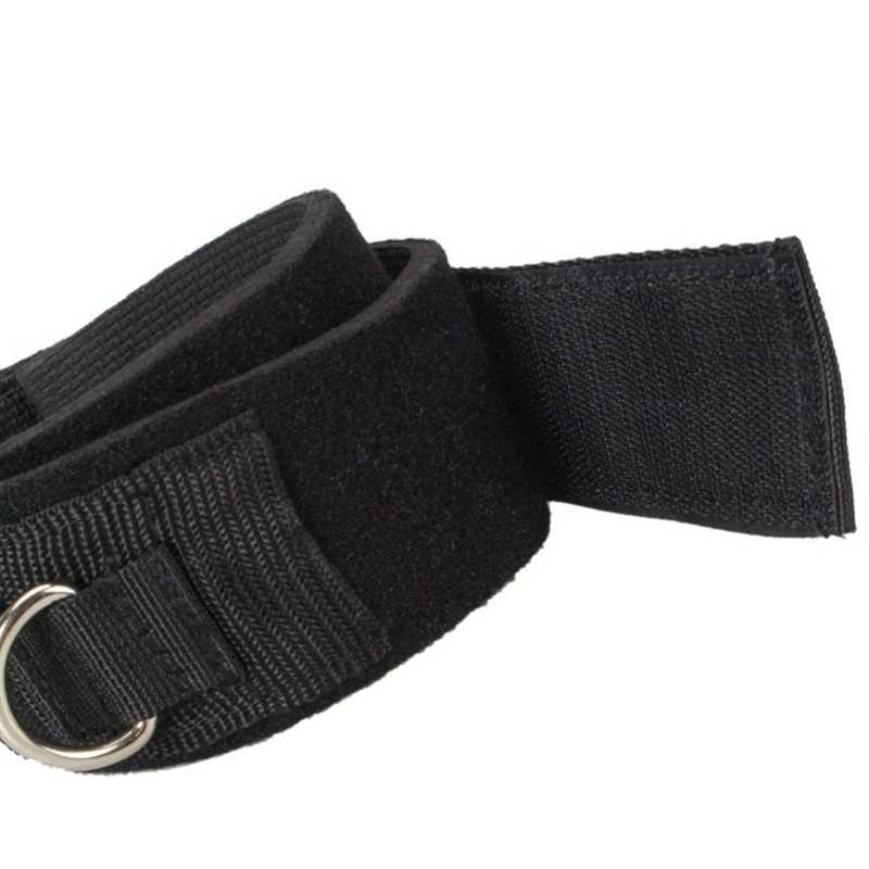 Padded Thigh Resistance Band Rope Straps Gym Strength Training Fitness Exercise Accessories Ankle Straps Cuff Grips