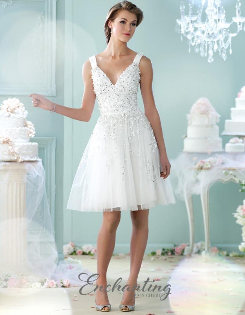 Nice Short Wedding Dress Beach Illustration - All Wedding Dresses ...