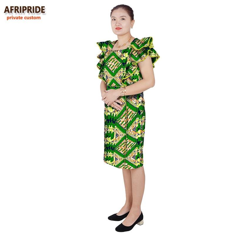 traditionella afrikanska hösten bomull klänningar för kvinnor - Nationella kläder - Foto 3