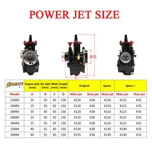 Image 5 - PowerMotor moto universelle noire 21 24 26 28 30 32 34mm
