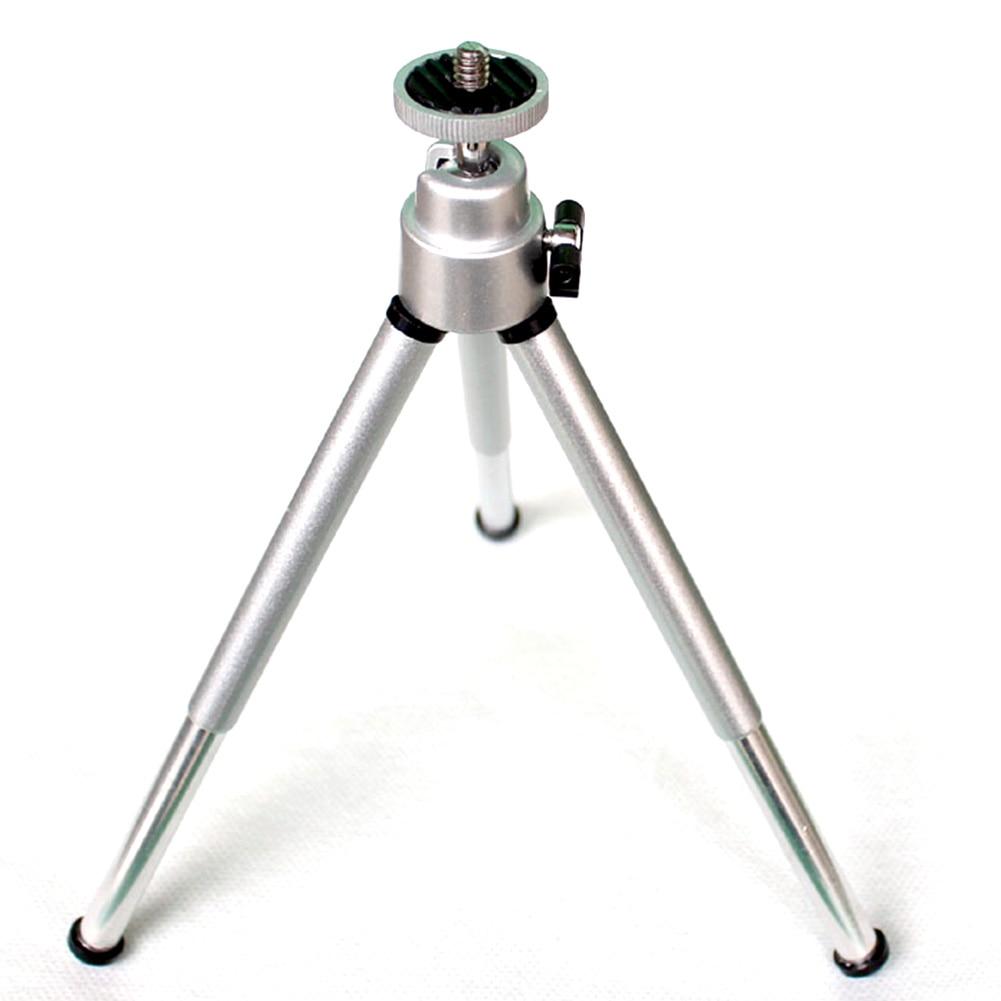 Universal Mini Tabletop Tripod Stand Holder For Digital Camcorder Smartphone Camera Stand Clip Bracket Holder Mount Adapter