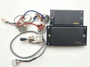Image 1 - Electric guitar Pickups Passive Humbucker Pickups Electric Guitar Pickups With Wiring Harness Guitar