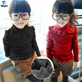 TUTUYU Baby Girls Kids Lace Sweater Autumn Winter Soild Tiny Cottons Sweater Knitted Pullover Warm Fashion Sweater