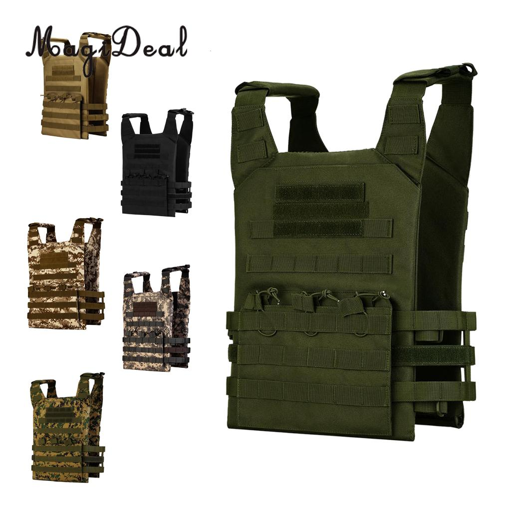 Outdoor CS Military Molle Modular Plate Carrier Tactical Vest Hunting Combat Paintball Vest us army cp camouflage tactical vest 600d nylon molle military cs paintball vest combat vest