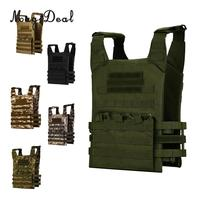 Outdoor CS Military Molle Modular Plate Carrier Tactical Vest Hunting Combat Paintball Vest