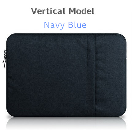 """Брендовый чехол aigreen для ноутбука 1"""", 13"""", 1"""", 15, 15,6 дюймов, сумка для Macbook Air Pro 13,3"""", 15,"""", Прямая поставка - Цвет: Vertical Navy Blue"""