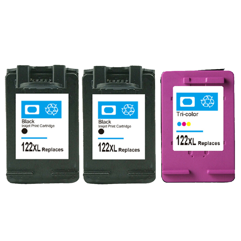For HP 122 Cartridge 122 Deskjet 1000 1050 1510 2050 1050A 2000 2050A 2540 3000 3050